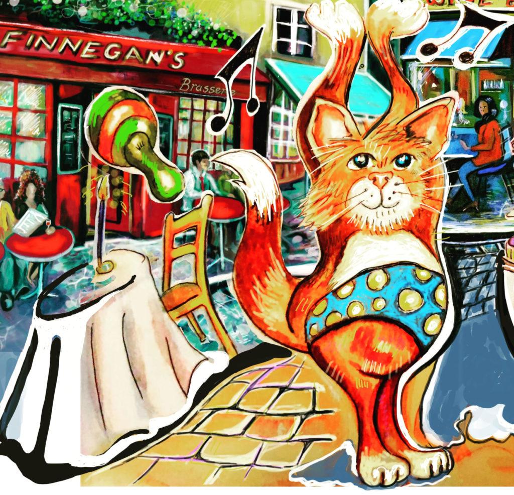 Joanne Finnegan artist illustrator Tilly Cat