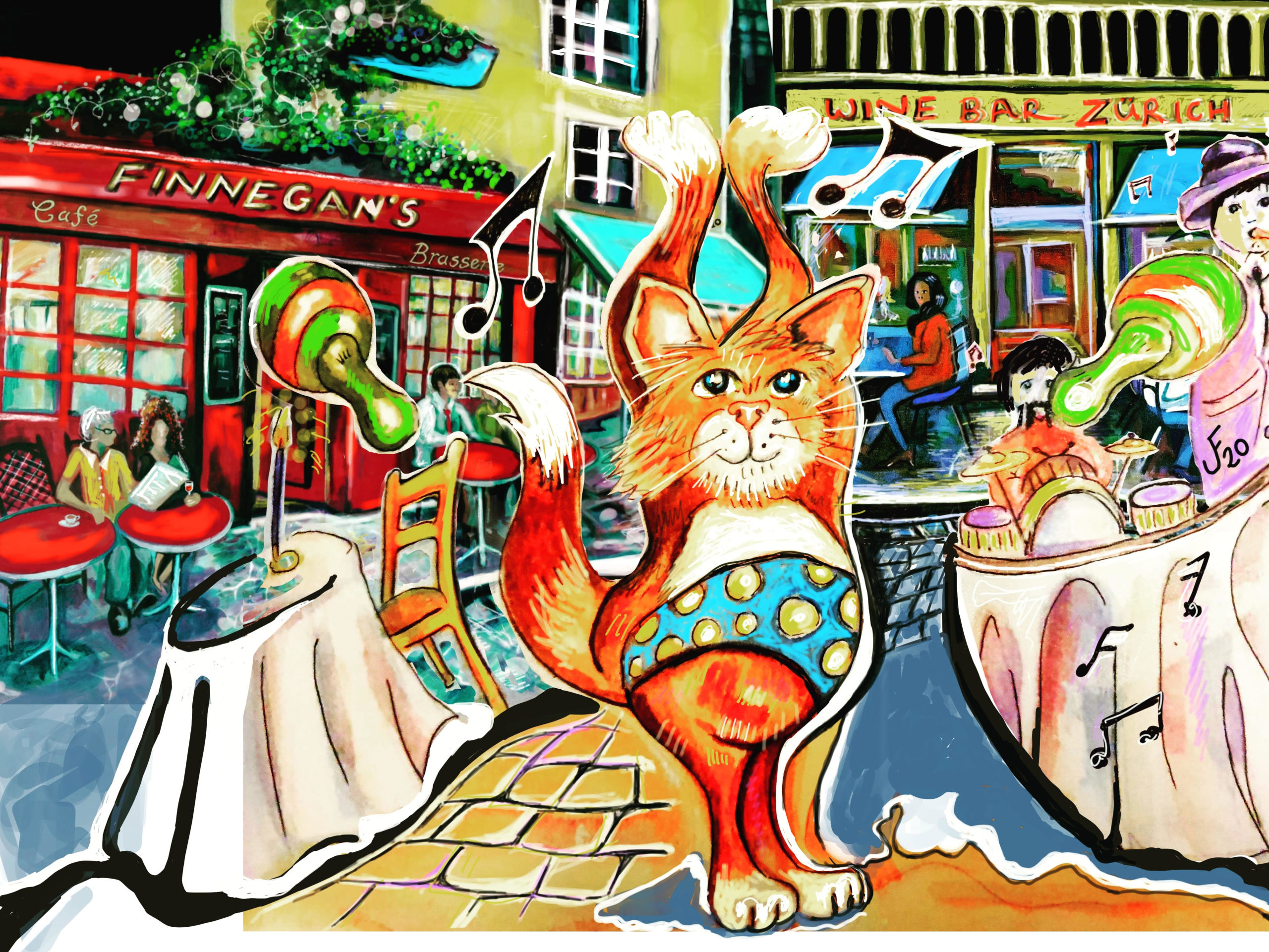 Joanne Finnegan artist illustrator Tilly Cat