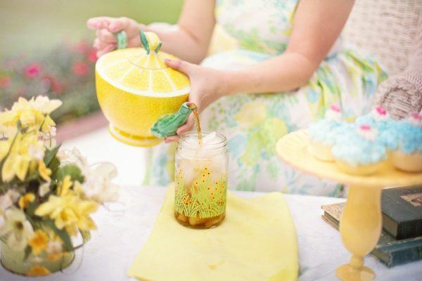 tea, tea time, girl